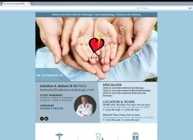 Barbaro MD Medical Website Website