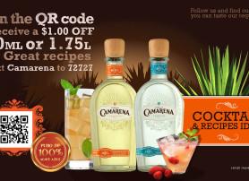 Camarena Tequila – Large T.V. Display