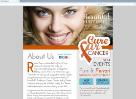 Cure Fur Cancer Charity Website
