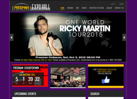 Freeman Coliseum Website