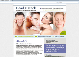 Head & Neck Message Website