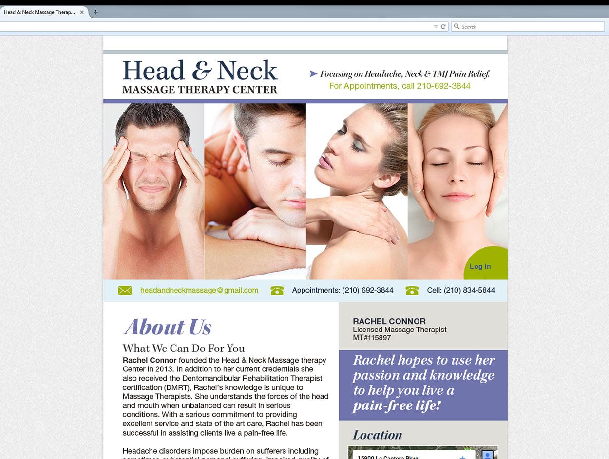 Head & Neck Message Website
