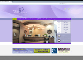 Perry Dental Website