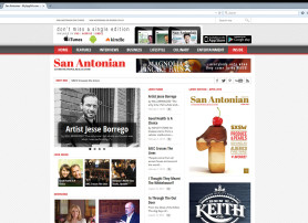 San Antonian Magazine Website