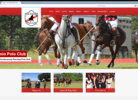 San Antonio Polo Club Website